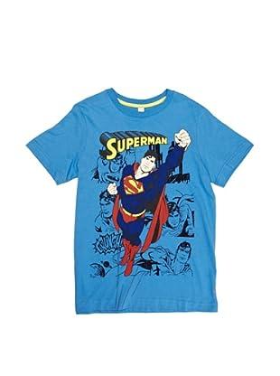 ESPRIT Camiseta 043EE6K015 Superman (Azul)