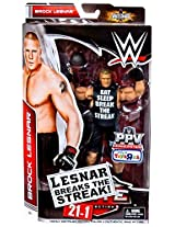 WWE Elite Collection Brock Lesnar Breaks the Streak 21-1 Exclusive Figure Mattel