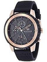 Tommy Hilfiger Chronograph Black Dial Men's Watch - TH1791195J