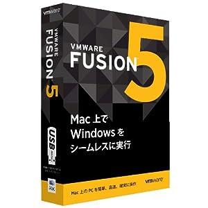 VMware Fusion 5パッケージ版