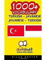 1000+ Turkish - Javanese, Javanese - Turkish Vocabulary