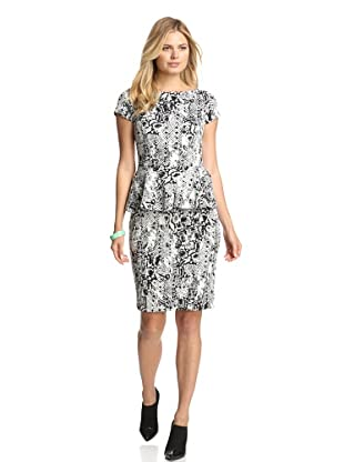 Alexia Admor Women's Snake Peplum Dress (Snake)