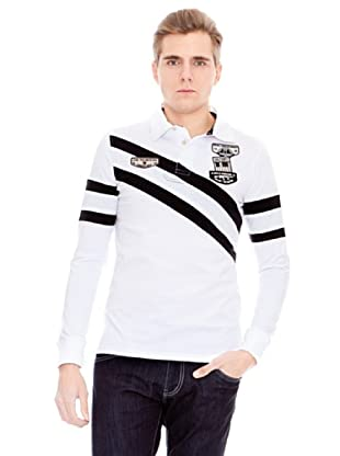 Unitryb Polo Manga Larga (Blanco)