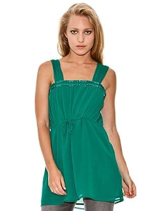 Springfield Blusa Casual (Verde)