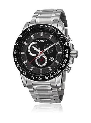 Akribos XXIV Uhr mit schweizer Quarzuhrwerk Man AK649SSB 48.0 mm