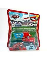 Cars Mega Size Mack Semi #3 Race-O-Rama Packaging