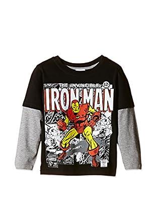 Marvel Camiseta Manga Larga Iron Man