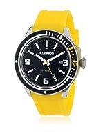 K&BROS Reloj 9487 (Negro Amarillo)