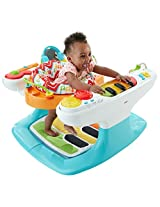 Fisher Price 4 in 1 Step N Play Piano, Multi Color