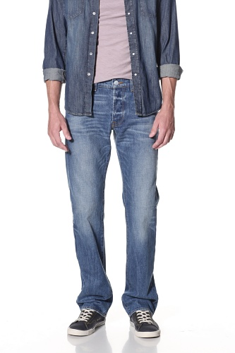 Genetic Denim Men's The Maverick Straight Jean (Ollie)