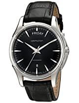 Hamilton Men's HML-H32505731 Jazzmaster Analog Display Swiss Automatic Black Watch