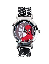 Spiderman Kids Analog Watch - Black