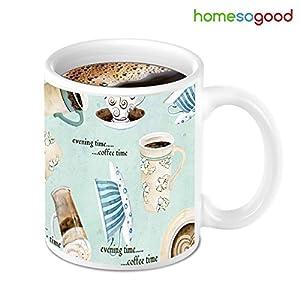 HomeSoGood Its Time To Coffee Mug