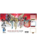 DC Deck Building Game Heroes Unite Playmat