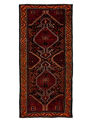 Darya Rugs One-of-a-Kind Tribal Rug, Purple, 4' 3