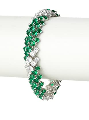 CZ by Kenneth Jay Lane Twisted Bombay Bracelet