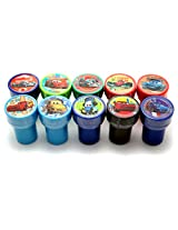 Disney Cars 10pcs Stamp Set