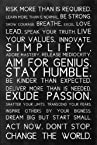 Seven Rays Rules to be amazing (Small) Poster