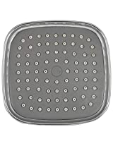 Asian Stainless Steel Shower (11.5 cm x 11.5 cm x 6 cm, Silver)