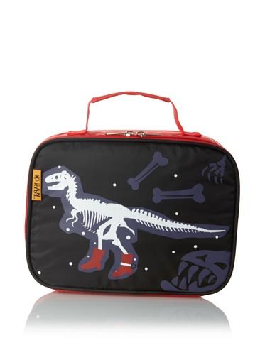 D&N Kids Dino Lunch Bag, Black