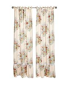 lazybones Set of 2 Eden Tab-Top Curtain Panels (Multi)