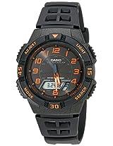 Casio Youth World-time Analog-digital Black Dial Men's Watch - AQ-S800W-1B2VDF (AD167)