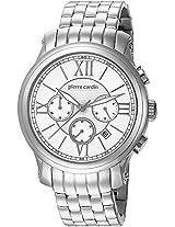 Pierre Cardin Chronograph White Dial Men's Watch - PC105151F02