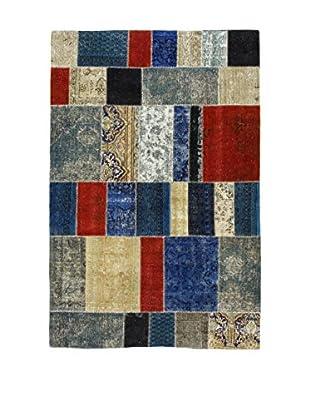 Eden Teppich Pacthwork mehrfarbig 194 x 292 cm