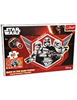 Disney, Star Wars Captain Phasma And Stormtroopers 60 Elements Glow In The Dark Jigsaw Puzzle