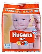 Huggies dry diapers L-56(8-14kg)
