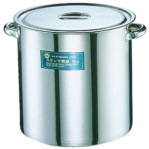 【クリックで詳細表示】SA18-8 寸胴鍋(目盛付) 30cm AZV11030: ホーム&キッチン