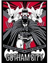 Licenses Products DC Comics Batman Gotham City Sticker