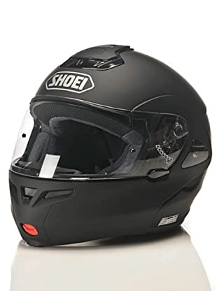 Shoei Casco Multitec Monocolor Candy (Negro)
