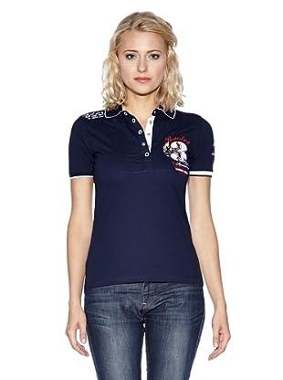 Conte United Polo-Shirt Simona (Dunkelblau)