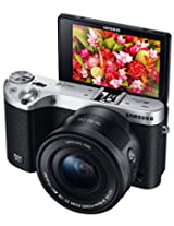Samsung Electronics NX500 28 MP Wireless Smart Mirrorless Digital Camera with Included Kit Lens (Black)