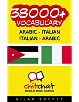 38000+ Arabic - Italian Italian - Arabic Vocabulary (ChitChat WorldWide) (Afrikaans Edition)
