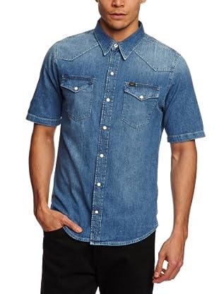 Lee Camisa Hamilton (Azul)