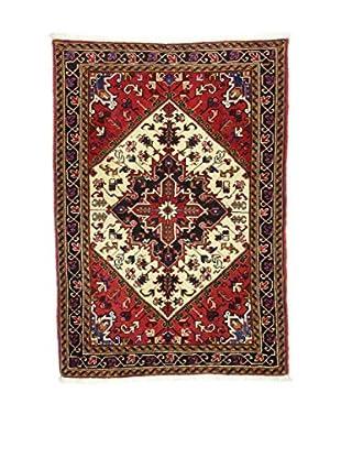 Eden Teppich   Heriz 110X156 mehrfarbig