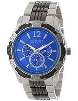August Steiner Men's AS8058BU Quartz Multi-Function Sport Bracelet Watch