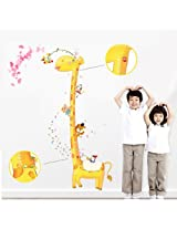 Removable Giraffe Height Wall Sticker Home Decor Decal Poster