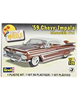 Revell 1:25 '59 Chevy Impala Convertible 2-in-1