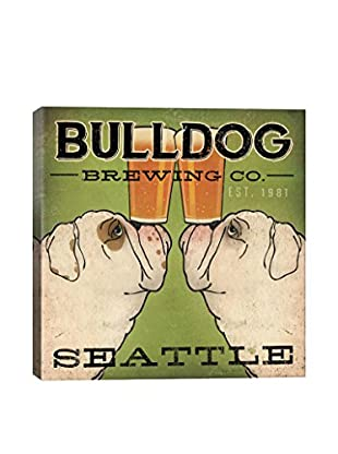 Ryan Fowler Bulldog Brewing Gallery Wrapped Canvas Print
