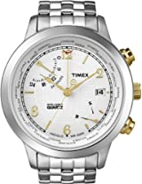 Timex Intelligent White Dial Mens Watch T2N613