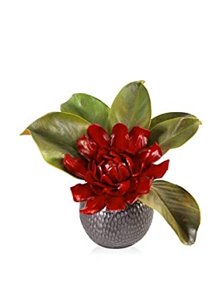 New Growth Designs Faux Ginger Flower with Magnolia