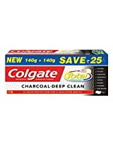 Colgate Total Charcoal toothpaste Saver Pack 280 gms