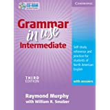 Grammar in Use Intermediate Student's Book with Answers and CD-ROM: Self-study Reference and Practice for Students of North American English (Book & CD Rom)Raymond Murphy�ɂ��