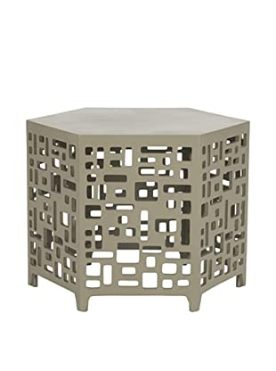 Safavieh Kelby End Table, Pearl Taupe