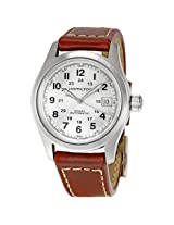 Hamilton Khaki Field Silver Dial Men'S Watch - Hml-H70455553
