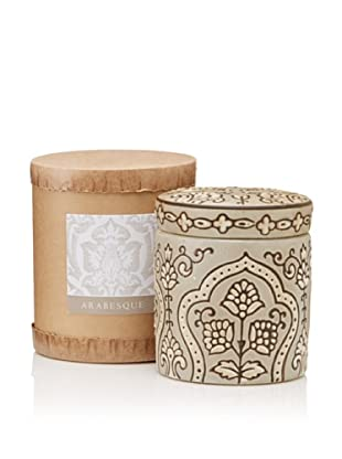 Scented Candle Jar in Gift Box, Arabesque, 10-Oz.