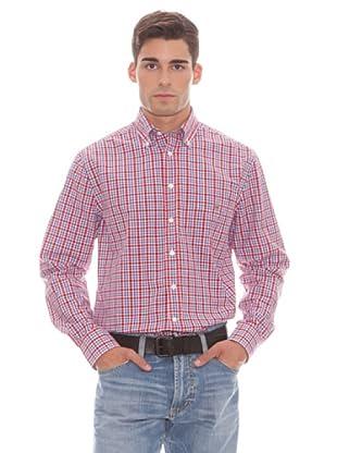 Gant Camisa Cuadros (Rojo)